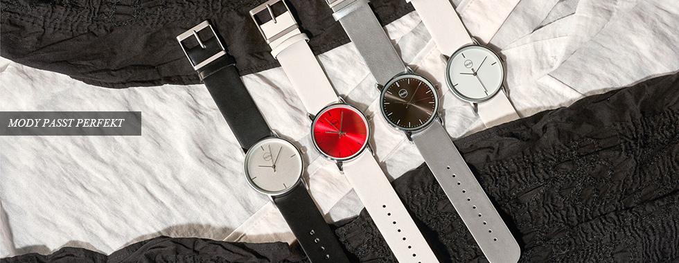 Mody - Die Armband-Schnellwechseluhr